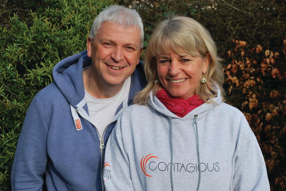 Pete und Anne Woodcock